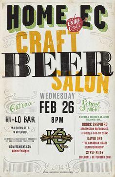 HomeEc #25: Craft Beer Salon