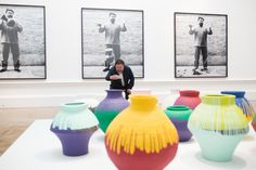 The Royal Academy of Arts in London is showing a retrospective of the Chinese dissident artist's work.