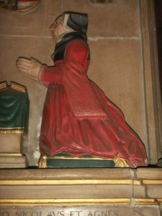 Agnes Sotherton 1540. Monument in St John Maddermarket in Norwich