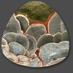 World of Jaspers: Hans Gamma  Mushroom Jasper, Maricopa Co., AZ