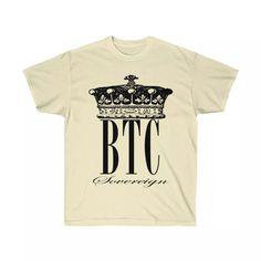 Bitcoin Sovereign T-Shirt - Bitcoin Merchandise by Crypto Shopper