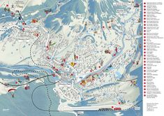 Customized ski & leisure activity maps for your tourist area.
