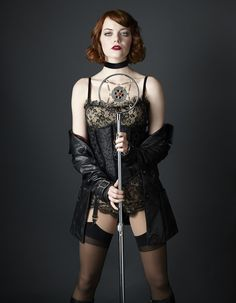 """Emma Stone Looks Flawless In The """"Cabaret"""" Musical"""