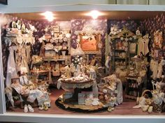 Miniatures by Sandra - Lace shop