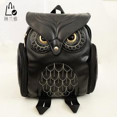 =>>Save onFashion Women Backpack 2016 Newest Stylish Cool Black PU Leather Owl Backpack Female Hot Sale Women shoulder bag school bags A07Fashion Women Backpack 2016 Newest Stylish Cool Black PU Leather Owl Backpack Female Hot Sale Women shoulder bag school bags A07Discount...Cleck Hot Deals >>> http://id821604395.cloudns.hopto.me/32614284955.html images