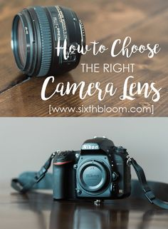 Lenses: What to Buy + What NOT to Buy - Sixth Bloom- Lifestyle, Photography & Family Blog
