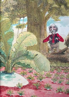 The Enormous Turnip, Ladybird Books, illustrated by John Dyke