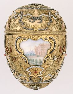 """Happy Birthday Peter Carl Fabergé [1846-1920]  """"Peter Carl Fabergé also known as Karl Gustavovich Fabergé in Russia was a Russian jeweller, best known for the famous Fabergé eggs, made in the style of genuine Easter eggs, but using precious metals and gemstones rather than more mundane materials.WIKIPEDIA"""""""
