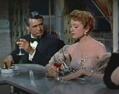 """Who can forget Cary Grant and Deborah Kerr unforgettably sipping on pink champagne in An Affair to Remember? And Cary's Nickie saying """"Don't you think life should be gay and bright and bubbly, like champagne?"""" My favorite movie."""