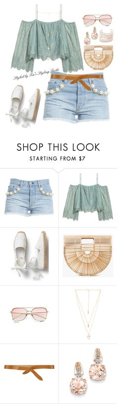 """Style 77"" by iamdivinepurpose ❤ liked on Polyvore featuring Forte Couture, H&M, Cult Gaia, Natalie B, Isabel Marant, BillyTheTree and Alexis Bittar"