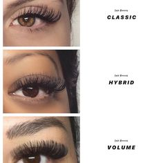 hair and beauty over 40 Types Of Eyelash Extensions, Eyelash Extensions Classic, Volume Lash Extensions, Natural Fake Eyelashes, Russian Volume Lashes, Makeup At Home, Makeup Items, Skin Makeup, Beauty Over 40