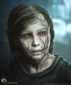 The Art Of Ken Barthelmey - Creature Designer / Concept Artist . The Art of Ken Barthelmey - Creature Designer / Concept Artist - Entertainment Zombie Kunst, Arte Zombie, Zombie Art, Dark Fantasy, Fantasy Art, Arte Horror, Horror Art, Character Inspiration, Character Art