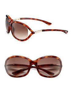 Tom Ford - Jennifer 61MM Oval Sunglasses Havana. Óculos De Sol ... de8d95c2cb