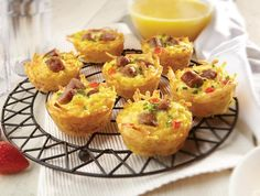 Breakfast Muffin Cups are easy to make and easy to eat on-the-go.