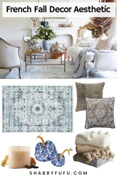 Find the best way to reuse and repurpose home decor items for the new fall season following the french aesthetic! Learn how to mix and match different styles to make your home decor a perfect reflection of your own style. #frenchdecor #frenchhome #falldecor #decorideas
