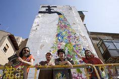 Buenos Aires Stencil & Run Don't Walk at Avant-Garde Urbano 2011