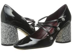Marc by Marc Jacobs Courtney 75mm 3 Strap Pump