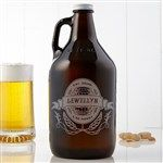 Personalized Beer Growler - Brewing Company - Men's Gifts