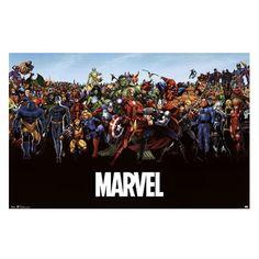 Marvel Universe Poster