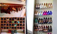 40 solutions for storing your numerous pairs of shoes
