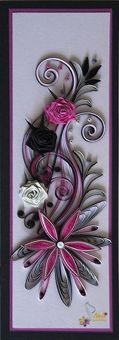 several beautiful quilled cards at this site