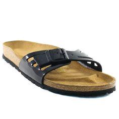 741A BIRKENSTOCK MOLINA NOIR VERNI www.ouistiti.shoes le spécialiste internet de la chaussure bébé, enfant, junior et femme collection printemps été 2015