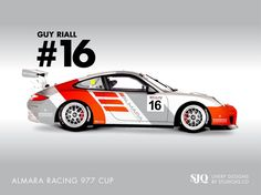 Another design for @GuyRiall Almara Racing 977 Cup. This one focused on team branding. Thoughts? @GTCUP @SwissvaxUK