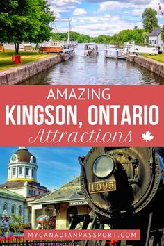 Kingston, Canada's first capital city, is best known for its rich history, 19th-century limestone buildings, vibrant downtown, and scenic outdoor spaces. Read about all the best things to see, eat and do, here! #kingston #exploreontario #explorecanada #destinationontario #ontario #canada #ontariotravel #canadatravel #traveldestinations #traveling #goexplore
