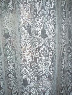 Victorian White Lace Curtains - Bing Images