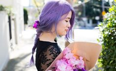 The Perfect Little Black Dress | Emi Unicorn #pastelhair #purplehair