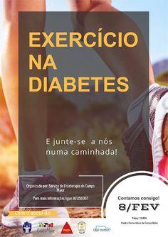 """Campomaiornews: """"Exercício na Diabetes"""" uma caminhada para promove..."""