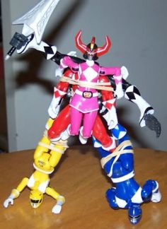 How they actually form the Dino Megazord