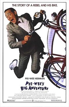 Pee-Wee's Big Adventure (Un film di Tim Burton. Con Pee-Wee Herman, Elizabeth Daily - USA 1985)