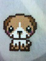 Cute Puppy Perler