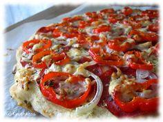 Meetvursti-paprikapizza - www.kinuskikissa.fi