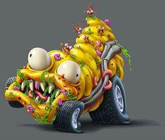 Trash Wheels