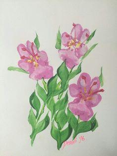 Pawprint flowers