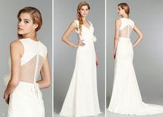"Bridal Stylish: Swiss Dot, updated Jan 17,2014 - ""Ruby"" by Blush by Jim Hjelm available at Everthine Bridal Boutique  http://shopeverthine.com/2014/01/bridal-stylist-swiss-dot/"