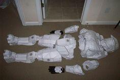 Halo armor layout