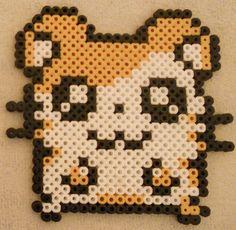 Hamtaro hama beads by Christine