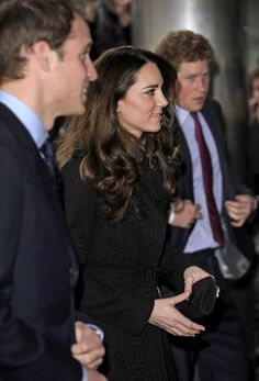 February 25, 2011 - Prince William, Prince Harry, and Kate Middleton arrive at New Zealand House in Haymarket to sign a book of condolences for the victims of the earthquake in Christchurch, New Zealand