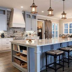 White kitchen is never a wrong idea. The elegance of white kitchens can always provide . Elegant White Kitchen Design Ideas for Modern Home Kitchen Ikea, Home Decor Kitchen, Kitchen Interior, New Kitchen, Farm House Kitchen Ideas, Awesome Kitchen, Kitchen Layout, Kitchen Hacks, Eclectic Kitchen