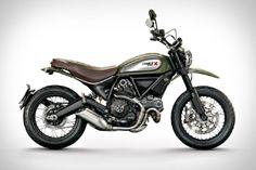 Italian motorcycle brand Ducati offers a contemporary take on a classic '70s bike with the all-new 2...