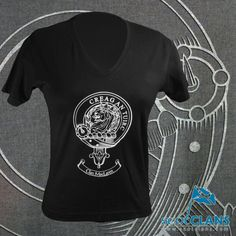 MacLaren Clan Crest T Shirt