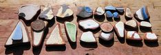 24 Sea Worn Terracotta Pottery Pieces by SeaFindsScotland Rare Scottish Beach Finds Craft/Jewellery Supplies Pottery Shards