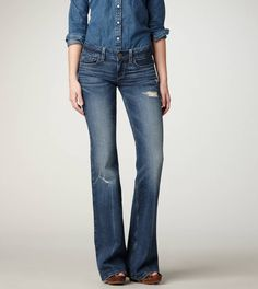 AE Hipster Flare Jean   American Eagle Outfitters