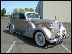 1937 Packard 1506 Touring Sedan #Mecum #Seattle
