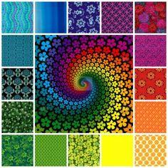 rainbow swirl (256 pieces)