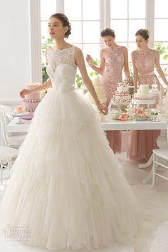 Váy cưới công chúa tuyệt đẹp 2015