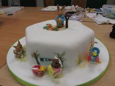 Beatrix Potter cake Beatrix Potter Cake, Cakes, Desserts, Food, Tailgate Desserts, Deserts, Cake Makers, Kuchen, Essen